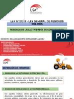 LEY N° 27314 - LEY GENERAL DE RESIDUOS SÓLIDOS