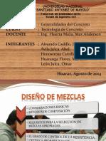 DISEÑO DE MEZCLAS I