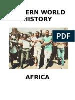 Africa Unit 12-16-09