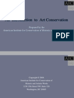Introduction to Art Conservation -12705531593369-Phpapp01