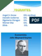 Economista Keynes.