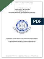 Microprocessor Ece Lab Manual