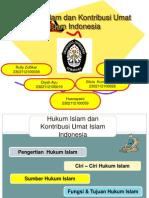 Hukum Islam Dan Kontribusi Umat Islam Indonesia