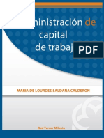 Admon de Capital de Trabajo