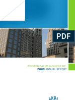 Winston-Salem Business Inc. 2009 ANNUAL REPORT
