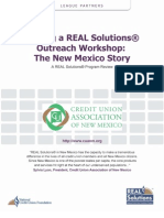 New Mexico Credit Union Association – Hosting a REAL Solutions Outreach Workshop