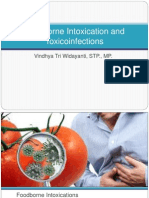 Foodborne Intoxication and Toxicoinfections