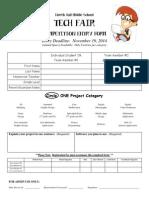 technology fair entry form - nhms fair