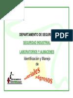 Identificacion y Señalamiento en Almacenes