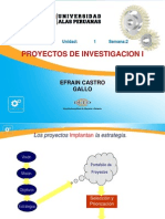Proyectos de Investigacion, Teoria semana 2 UAP DUED