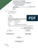 Surat Undangan Serah Terima Jabatan