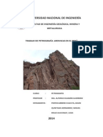 Petrografía. Areniscas