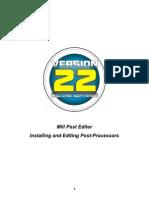 Bobcad-cam Mill Posts editing for v22