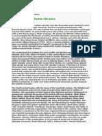 A Brief History of Pashto Literature