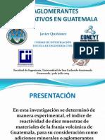 Aglomerantes Alternativos en Guatemala