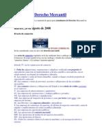 Apuntes de Derecho Mercantil CODIGO de COMERCIO