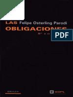 Las Obligaciones - Felipe Osterling Parodi