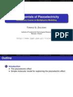 ICMM TGZielinski Piezoelectricity.slides