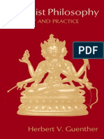 Herbert v. Guenther-Buddhist Philosophy in Theory and Practice-Shambhala (1976)