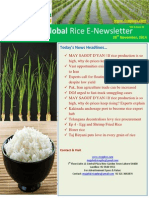28th November,2014 Daily Global Rice E-Newsletter by Riceplus Magazine