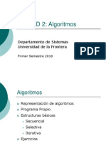 005 - Estructura y Representacion de Algoritmos