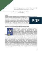 Software de Acceso Al Currículum Para Alumnos Con Discapacidad Visual Del
