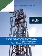 2014 Tongyu Base Station Antenna Product Catalogue
