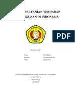 Sektor Pertanian Terhadap Pembangunan Di Indonesia