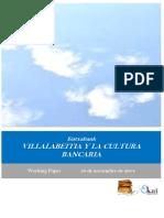 Kutxabank. VILLALABEITIA Y LA CULTURA BANCARIA