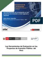 Seminario de Seguimiento y Evaluacion - Ex Post