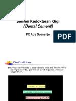 Dental Cement