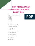 Microsoft Word - Pembahasan UN Matematika SMA Paket B29 Tahun Ajaran 2011-2012 (1)