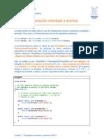 Programacion Dirigida Por Eventos