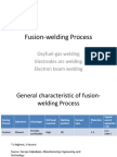 Fusion-welding Process (Gas and Arc Welding)