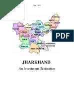 JHARKHAND an Investment Destination