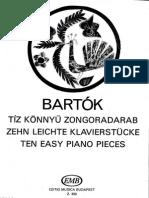 BARTOK Ten Easy Pieces