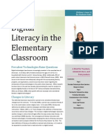 digital literacy in the elementary classroom