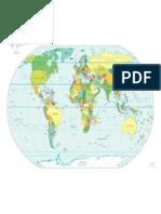Online Politische Weltkarte