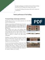 Seismic assessment of a structure near IITK gate