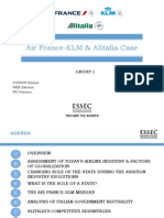Air France KLM Alitalia Case