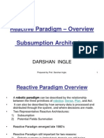 RAI notes on reactive paradigm
