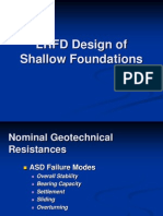 Bridge-Design of Shallow Foundations