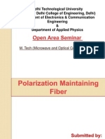 polarisation maintaining fibre