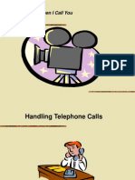 Telphone Ettiquette