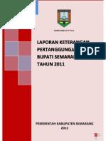 Lkpj Kabupaten Semarang 2011