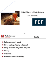 side effects of soft drinks.ppt