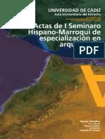 Actas i Seminario Hispanomarroqui