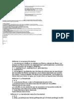 Soluciones de Las Actividades de Evaluación Plantas