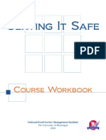 Serving It Safe Workbook