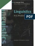 HG Widdowson Linguistics